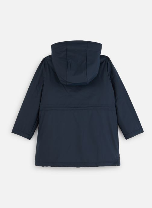 Vêtements CARREMENT BEAU Imper Y16068 Bleu vue bas / vue portée sac