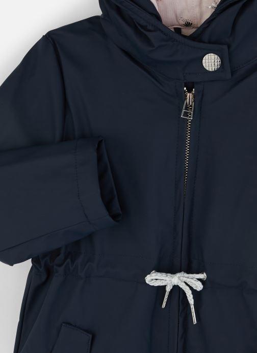 Vêtements CARREMENT BEAU Imper Y16068 Bleu vue portées chaussures