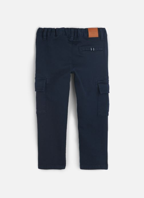 Vêtements Carrement Beau Pantalon Y24117 Bleu vue bas / vue portée sac