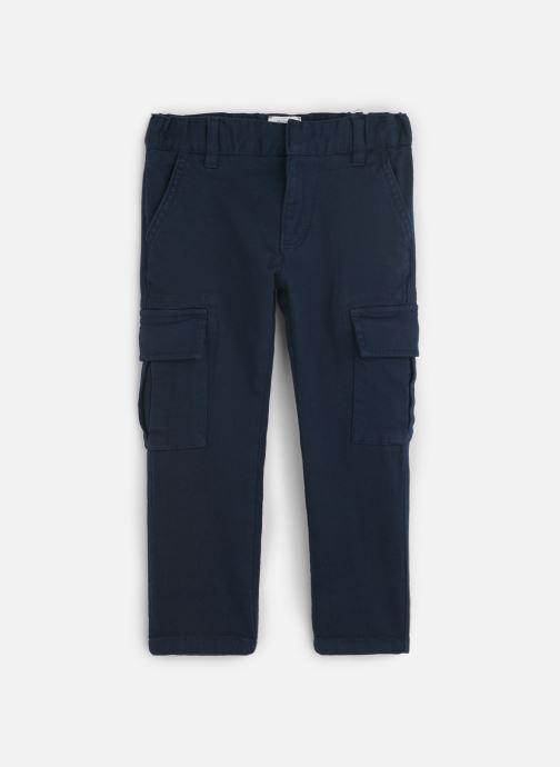 Vêtements CARREMENT BEAU Pantalon Y24117 Bleu vue détail/paire