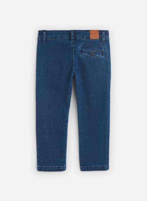 Vêtements CARREMENT BEAU Jean Y24122 Bleu vue bas / vue portée sac