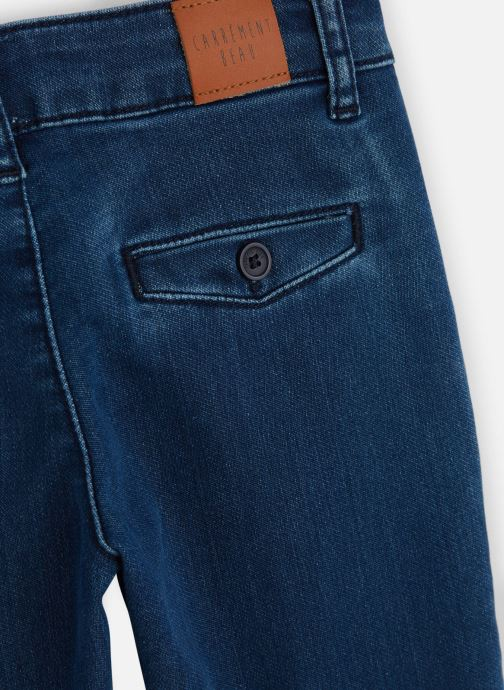 Vêtements CARREMENT BEAU Jean Y24122 Bleu vue portées chaussures