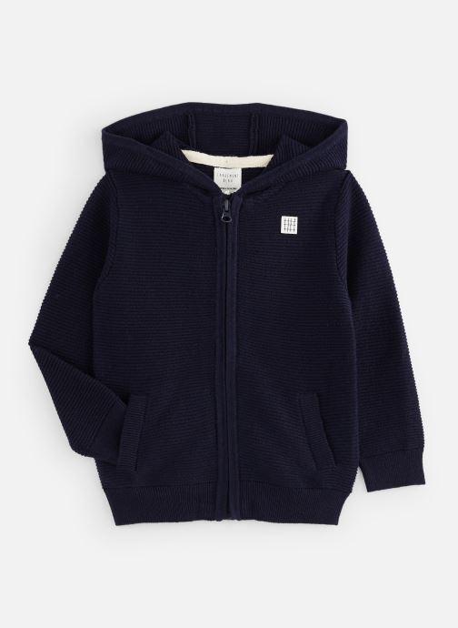 Vêtements CARREMENT BEAU Gilet Y25269 Bleu vue détail/paire