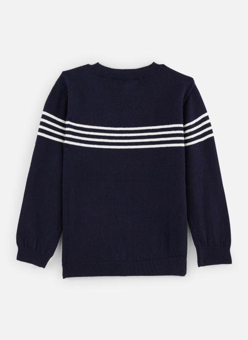 Vêtements CARREMENT BEAU Pull Y25275 Bleu vue bas / vue portée sac
