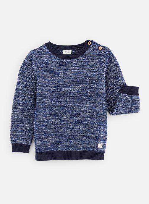 Vêtements CARREMENT BEAU Pull Y25276 Bleu vue détail/paire