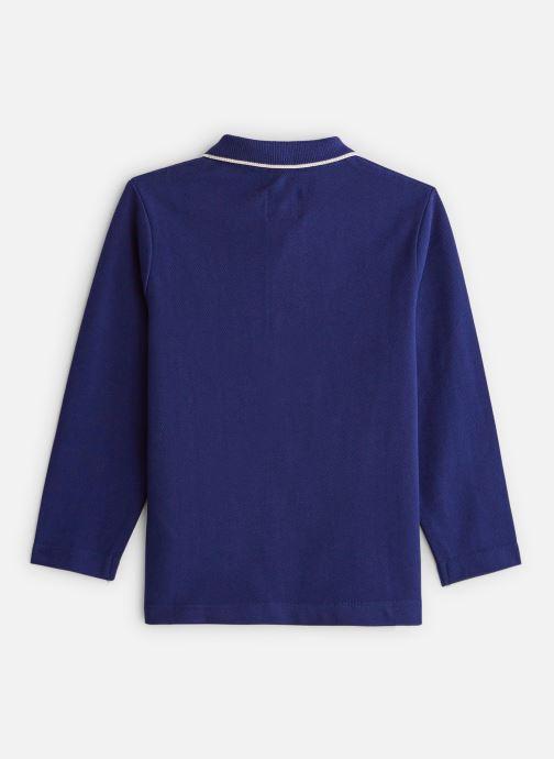 Vêtements CARREMENT BEAU Polo Y25Z00 Bleu vue bas / vue portée sac