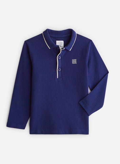 Vêtements CARREMENT BEAU Polo Y25Z00 Bleu vue détail/paire