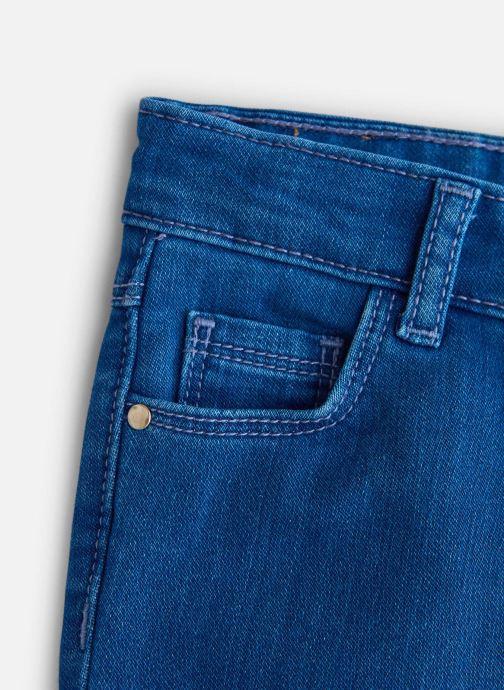 Vêtements Carrement Beau Jean Y94143 Bleu vue portées chaussures