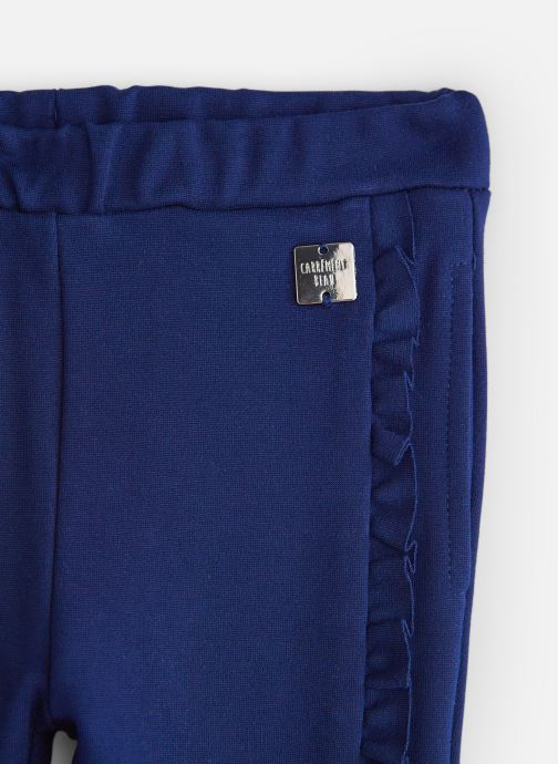 Vêtements CARREMENT BEAU Pantalon Y94147 Bleu vue portées chaussures
