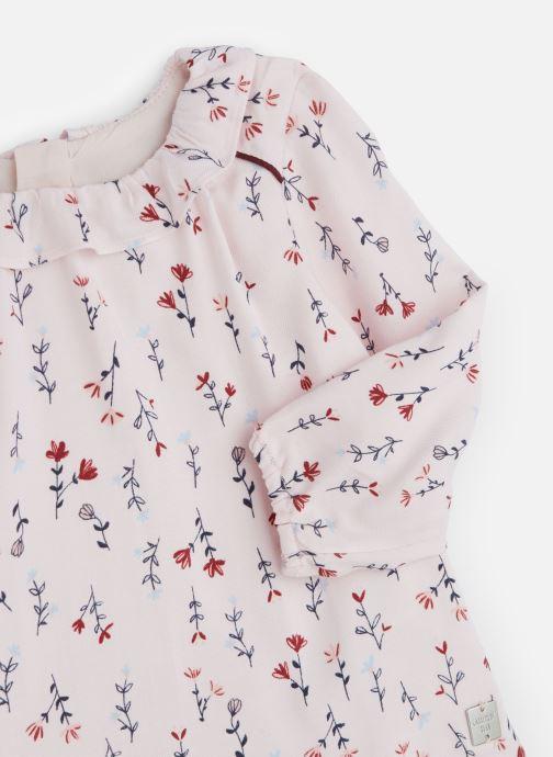 Vêtements Carrement Beau Blouse Y95177 Rose vue portées chaussures