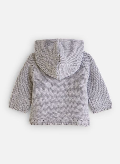 Vêtements CARREMENT BEAU Gilet Y96036 Gris vue bas / vue portée sac