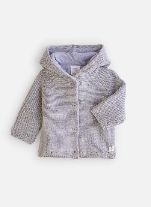 Vêtements CARREMENT BEAU Gilet Y96036 Gris vue détail/paire