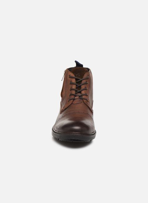 Boots en enkellaarsjes TBS Avallon Bruin model