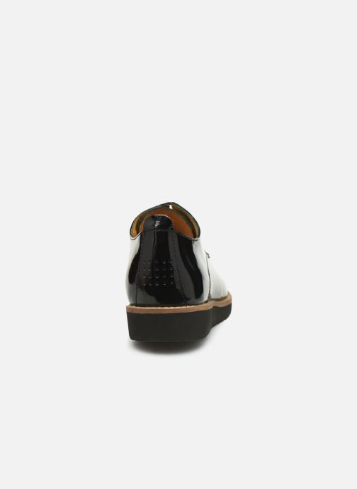 Zapatos con cordones TBS Calypso Negro vista lateral derecha