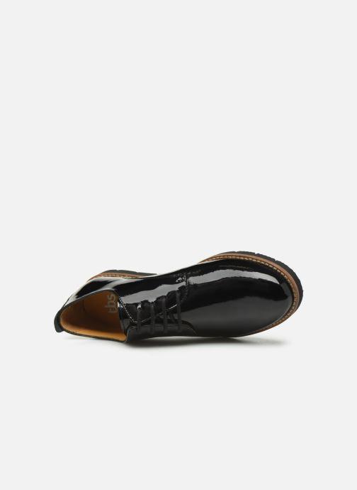 Zapatos con cordones TBS Calypso Negro vista lateral izquierda