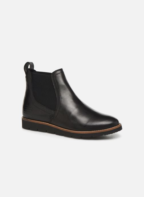 Ankle boots TBS Camilla Black detailed view/ Pair view