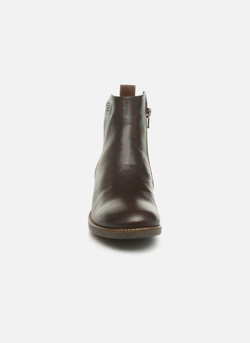 Bottines et boots TBS Gabriel Marron vue portées chaussures