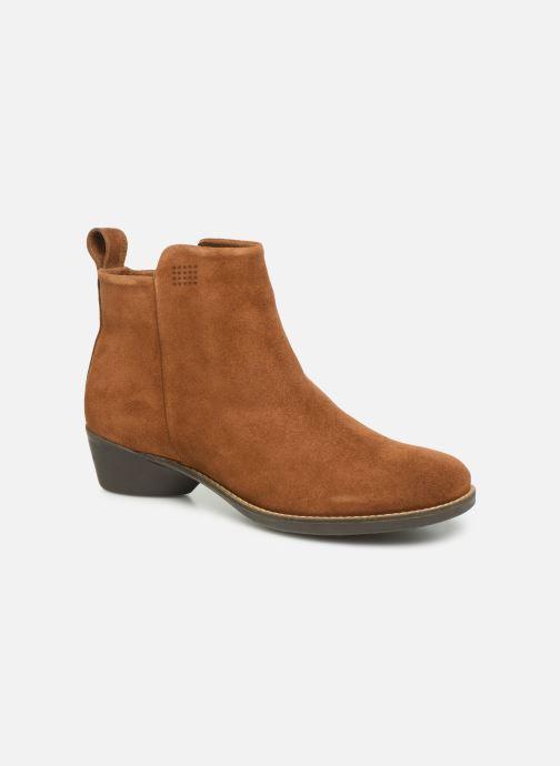 Boots en enkellaarsjes TBS Gabriel Bruin detail