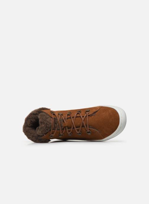 Bottines et boots TBS Iceland Marron vue gauche