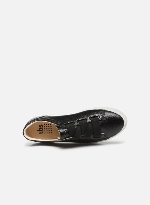 Sneaker TBS Andorra schwarz ansicht von links