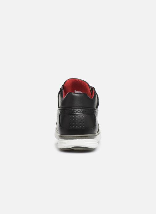 Sneaker TBS Kempton schwarz ansicht von rechts