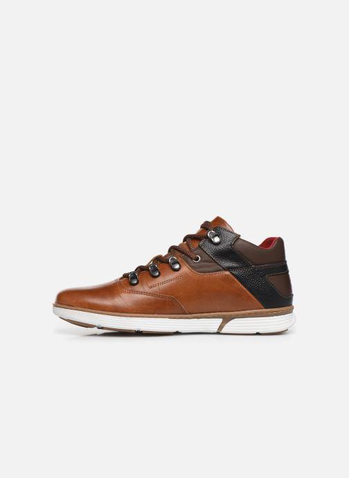 Sneaker TBS Kempton braun ansicht von vorne