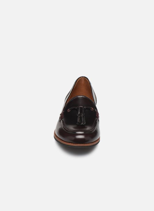 Loafers TBS Maltese Burgundy model view