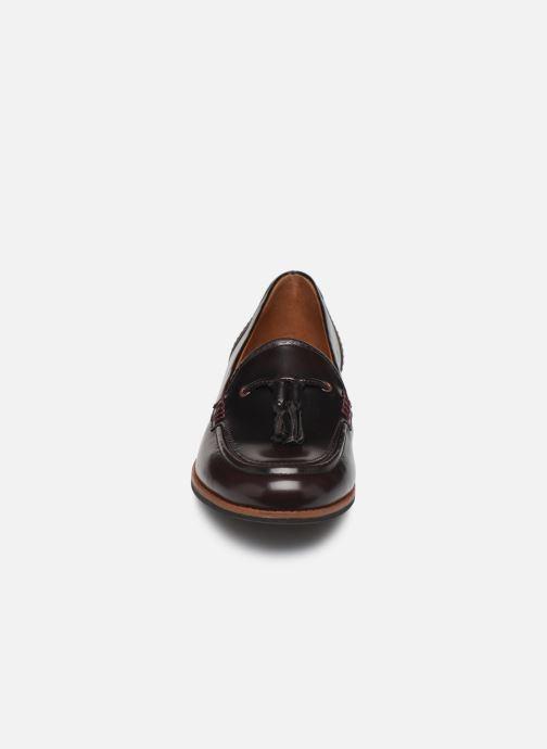Mocassins TBS Maltese Bordeaux vue portées chaussures