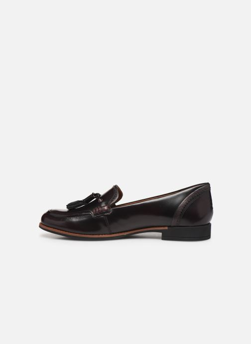 Loafers TBS Maltese Burgundy front view