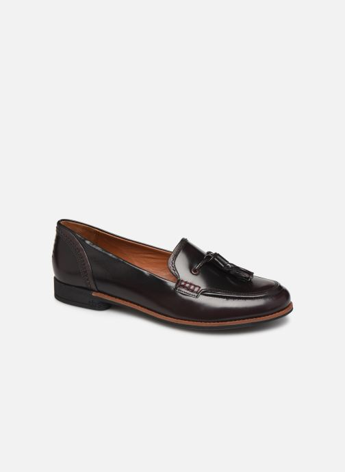 Loafers TBS Maltese Burgundy detailed view/ Pair view