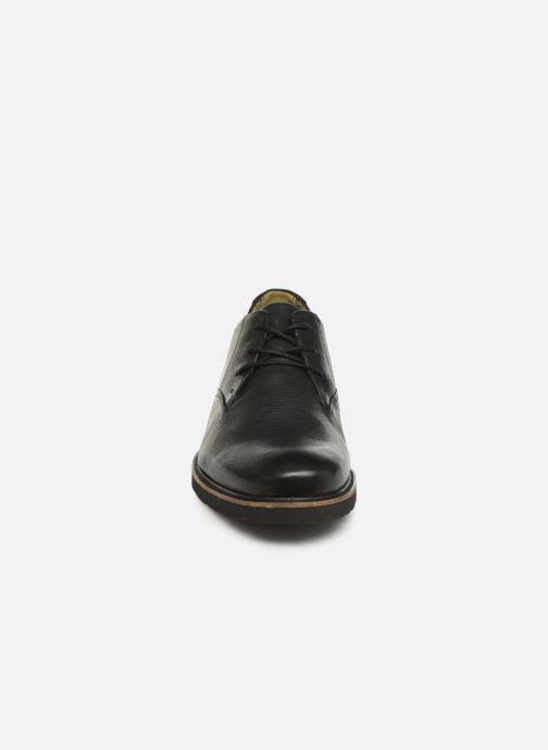 Schnürschuhe TBS Painton schwarz schuhe getragen