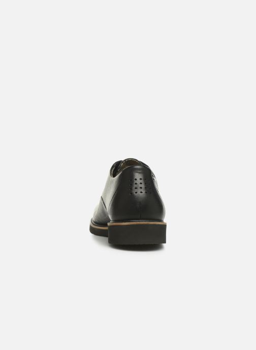 Lace-up shoes TBS Painton Black view from the right
