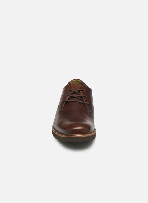 Zapatos con cordones TBS Painton Marrón vista del modelo