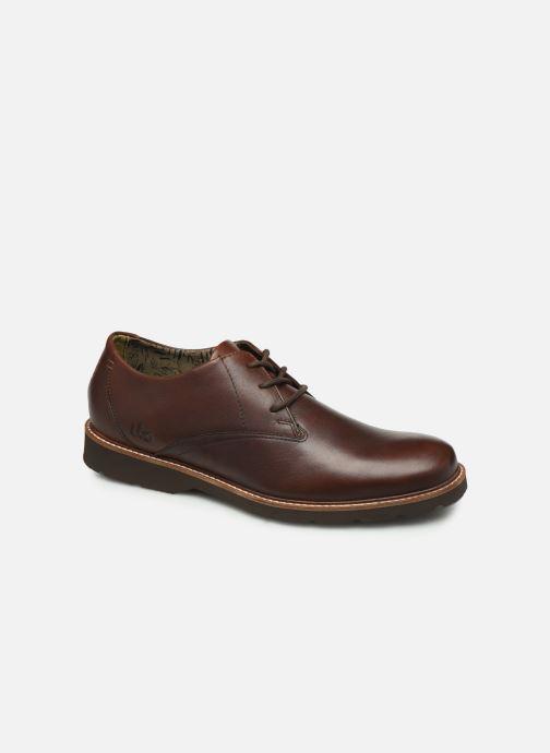 Zapatos con cordones TBS Painton Marrón vista de detalle / par