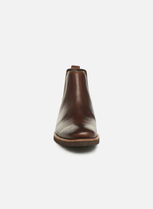 Bottines et boots TBS Paisley Marron vue portées chaussures