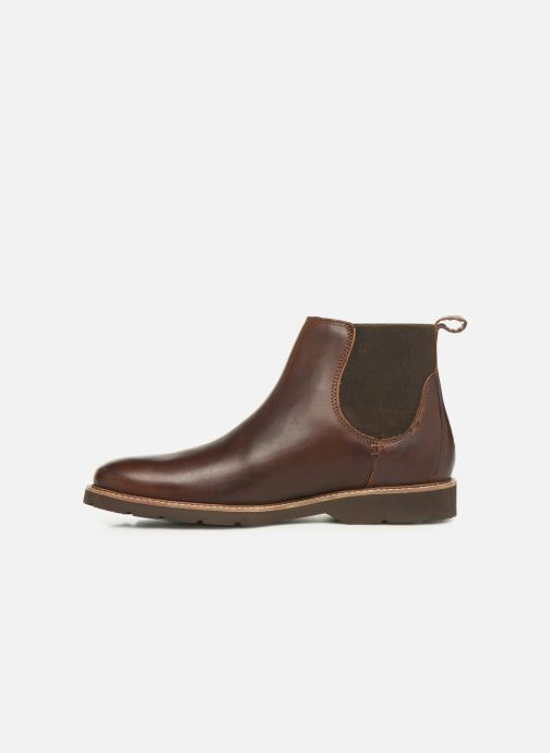 Bottines et boots TBS Paisley Marron vue face
