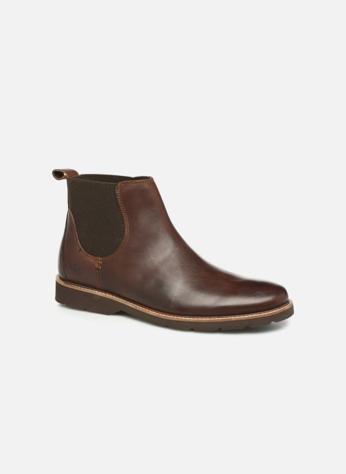 Bottines et boots TBS Paisley Marron vue détail/paire