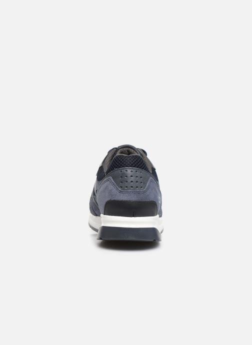Sneaker TBS Squalle blau ansicht von rechts
