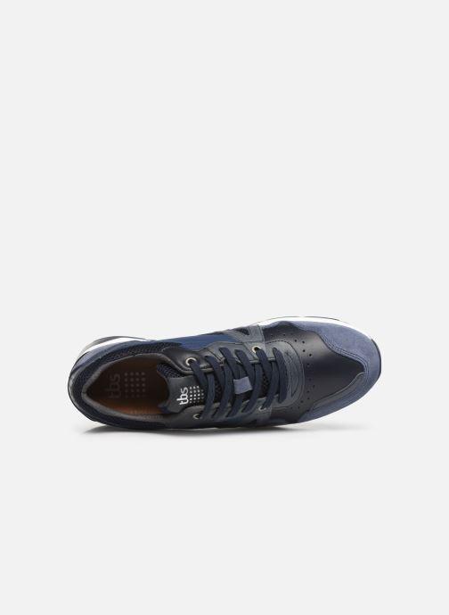 Sneaker TBS Squalle blau ansicht von links