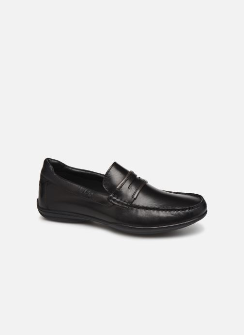 Loafers TBS Tananth Black detailed view/ Pair view
