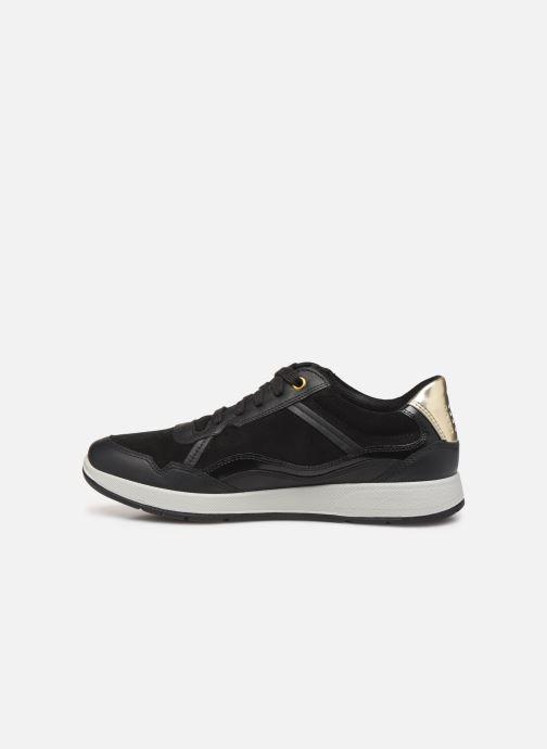Sneakers TBS Timings Zwart voorkant