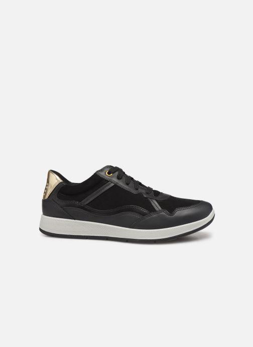 Sneakers TBS Timings Zwart achterkant