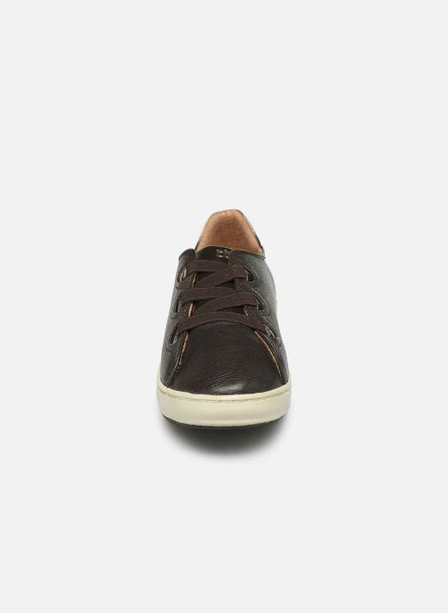 Baskets TBS Tyrella Marron vue portées chaussures