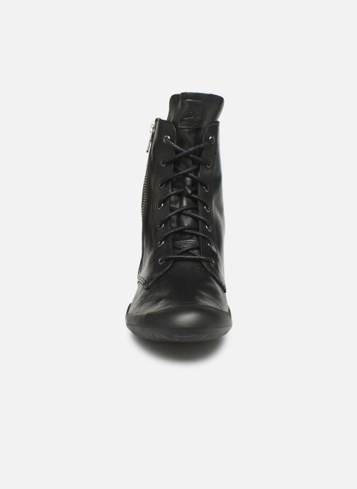 Bottines et boots TBS Varsity Noir vue portées chaussures