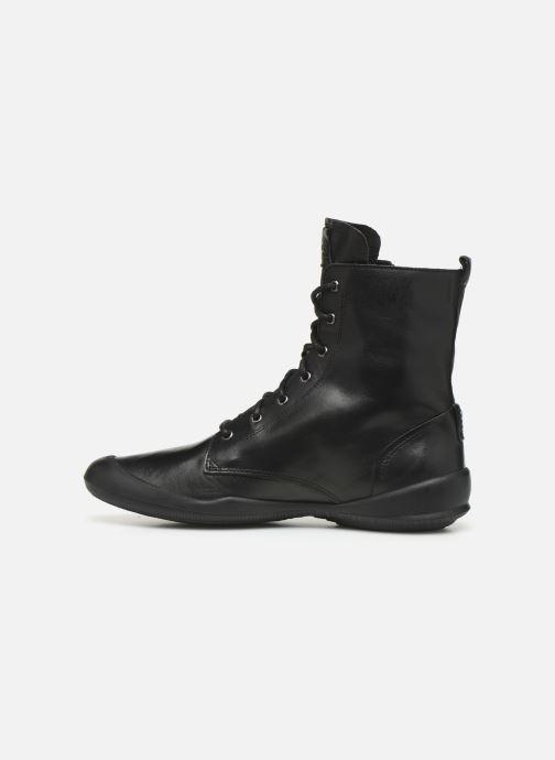 Bottines et boots TBS Varsity Noir vue face