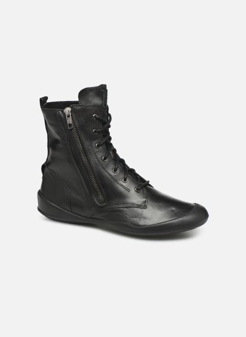 Bottines et boots TBS Varsity Noir vue détail/paire
