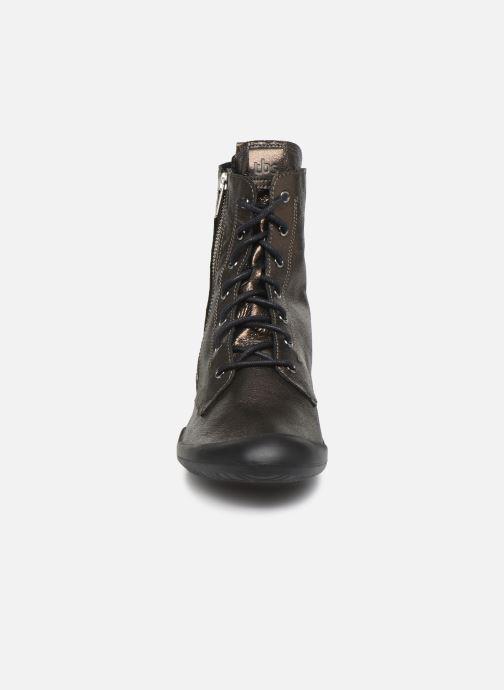 Stiefeletten & Boots TBS Varsity silber schuhe getragen