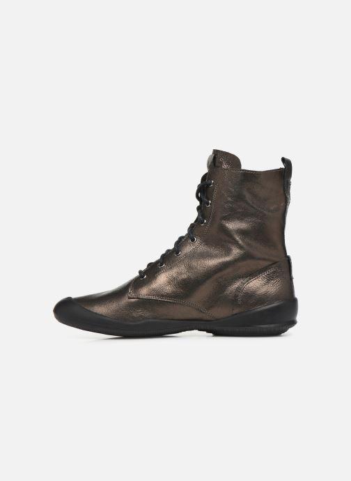 Bottines et boots TBS Varsity Argent vue face