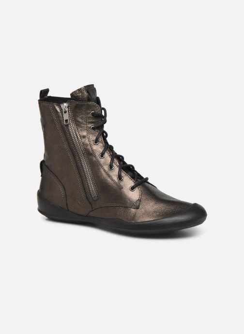 Bottines et boots TBS Varsity Argent vue détail/paire