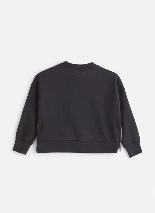 Vêtements Zadig & Voltaire Sweat X15163 Bleu vue bas / vue portée sac
